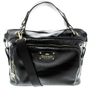 Juicy Couture Ever After Large Satchel. Br…